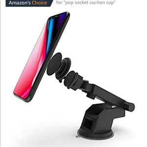Accessories - Car Mount for Pop Phone Stand (pop socket)